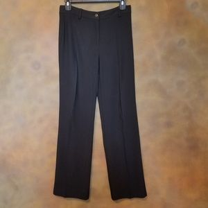 Carolina Herrera Black Dress Slacks sz 6-8